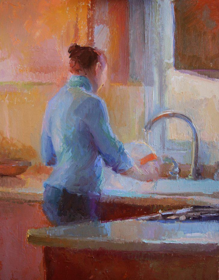 'In The Kitchen' -  Abigail McBride