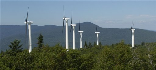 Roth Rock Wind Farm - Backbone Mountain, Oakland, MD