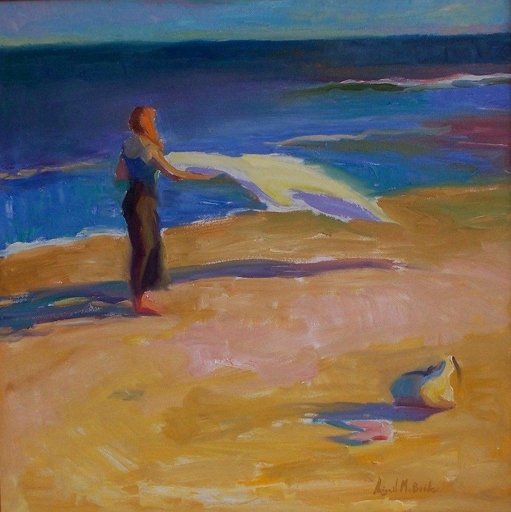 'On The Beach' -  Abigail McBride