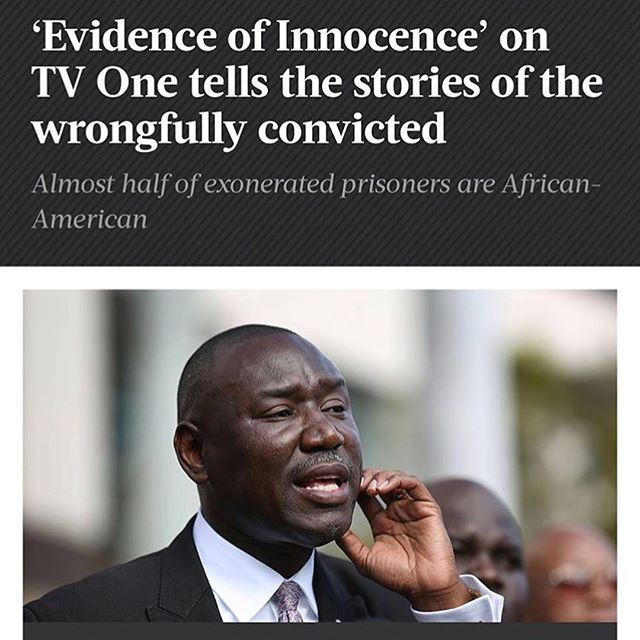 If you haven't checked this series out! You must!!! Majority of Exonerated prisoners ARE African Americans #evidenceofinnocence#justiceisserved