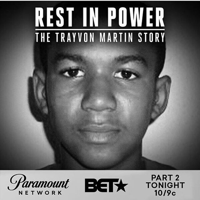 Tune in to BET! Or set your DVR to BET for Part II in #Restinpower#Trayvonmartin#bet#support#supportblackbusiness