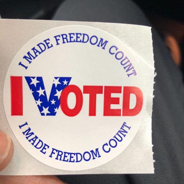 Did you vote? Remember tomorrow is the last day to vote? #Florida#pleasevote#everyvotecounts#EMCI