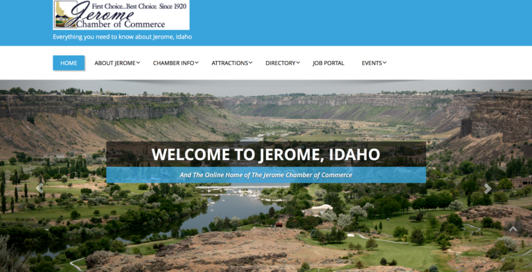 Jerome Chamber of Commerce - Job Portal, Events Calendar & Membership Directory