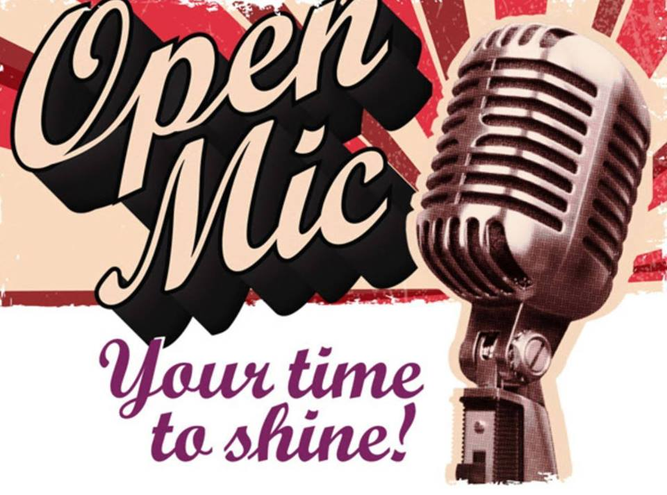 Come down every Monday night from 6 to 9pm for open mic night.