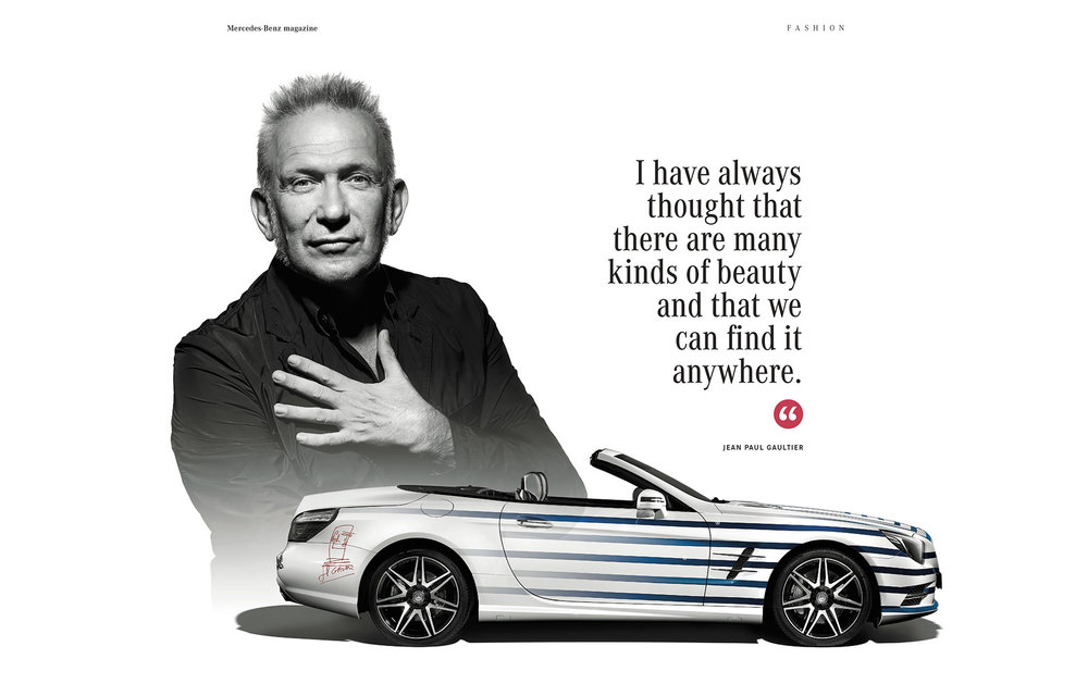 Mercedes_Jean Paul Gaultier