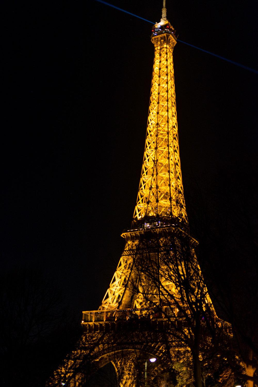 Bonne nuit Paris