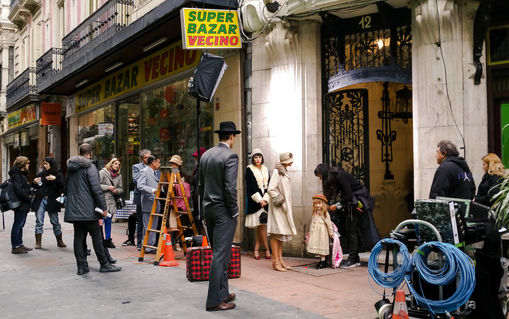 Movie set in Madrid
