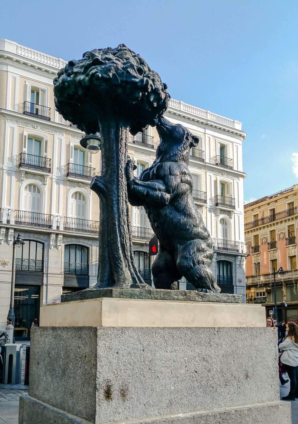 Madrid's bear in Puerta del Sol