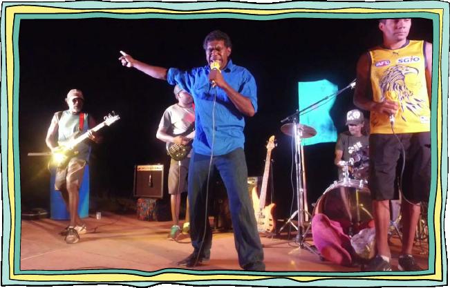 Mambali band, numbulwar -