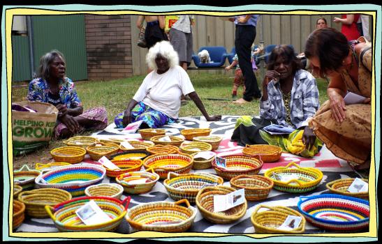 Numbulwar weavers workshop 5-6pm -