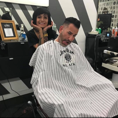 Natalie Roybal   Master Barber at Proper Barbershop in Denver. Liaison and chapter leader for ScissorCandy Denver.