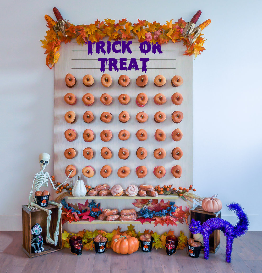 Halloween Donut Wall || Primo's Donuts Los Angeles