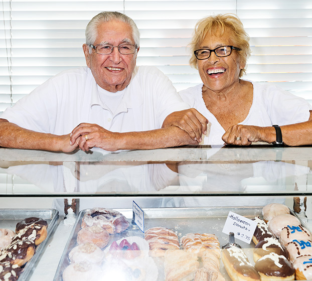 Thanks for your order! Fresh donuts are coming your way soon. - Ralph & Celia Primo