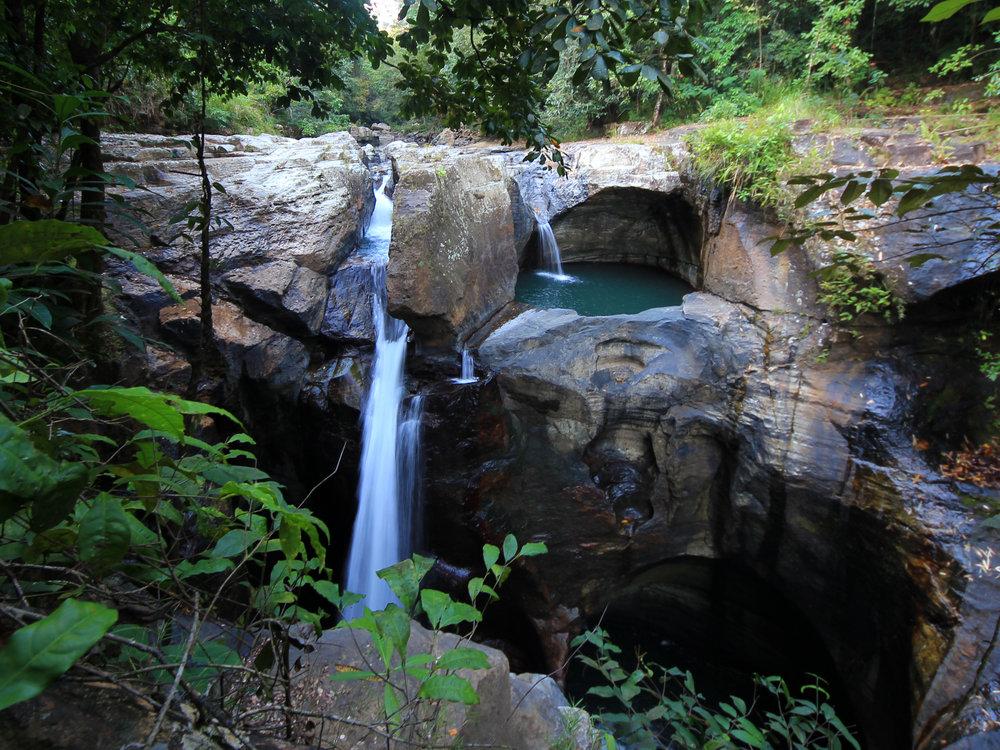 Cunca Wulang Canyon -