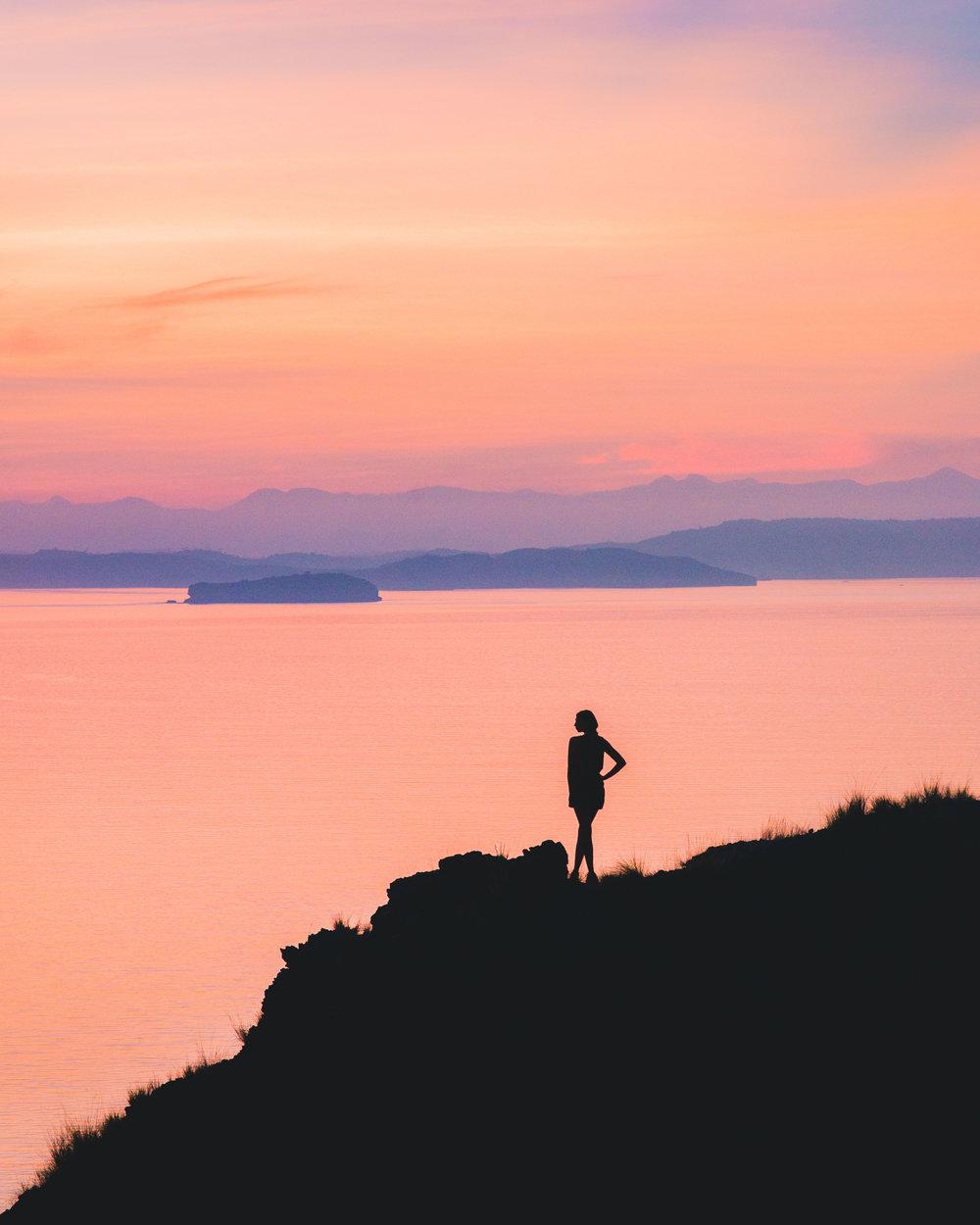 Padar Island Sunrise Flores by Roberto Volta