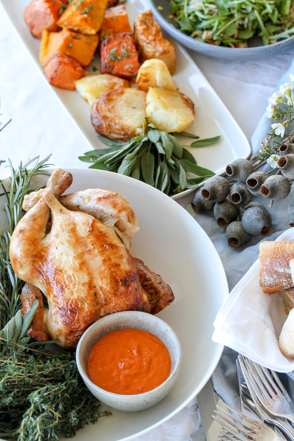 Short Order Roast Chicken & Vege Christmas Spread (1 of 1).jpg