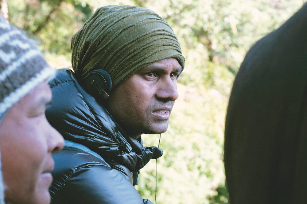 Regissören Deepak Rauniyar
