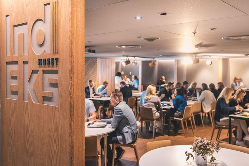 Ny personalrestaurant - Gjestene i personalrestauranten vil oppleve en høyere grad av service enn det som er vanlig i konvensjonelle kantiner og personalrestauranter.