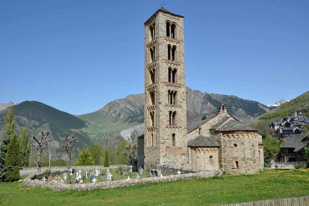 Capilla del Valle de Boí, declarada Patrimonio de la Humanidad.