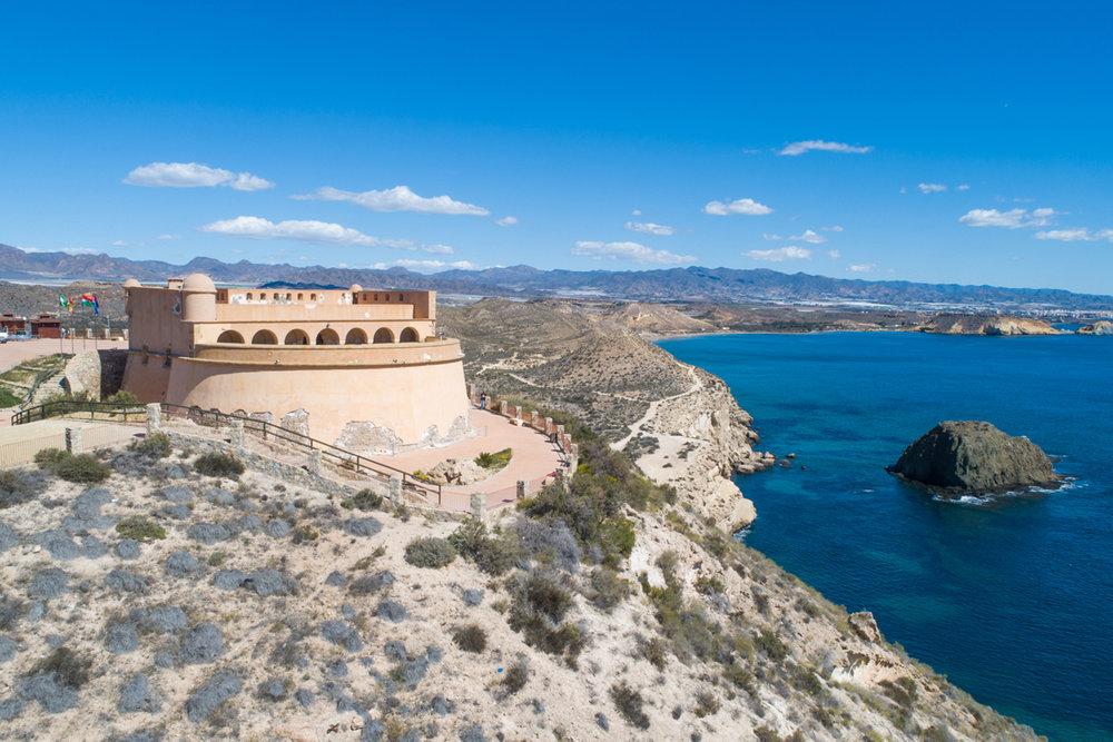 Qué ver en Pulpí. Castillo de Terreros.