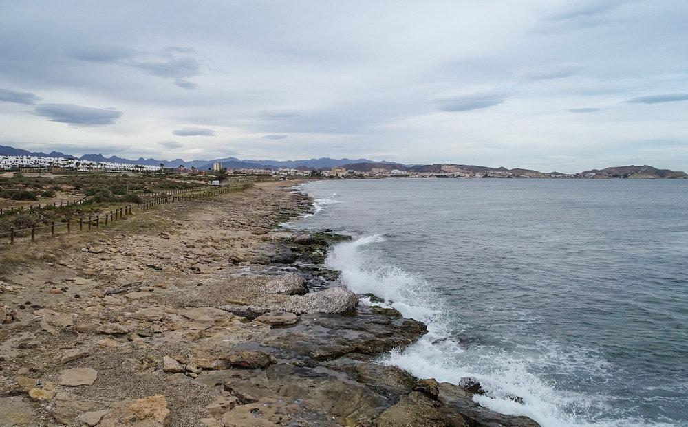 Qué ver en Pulpí. Playa de Los Nardos.