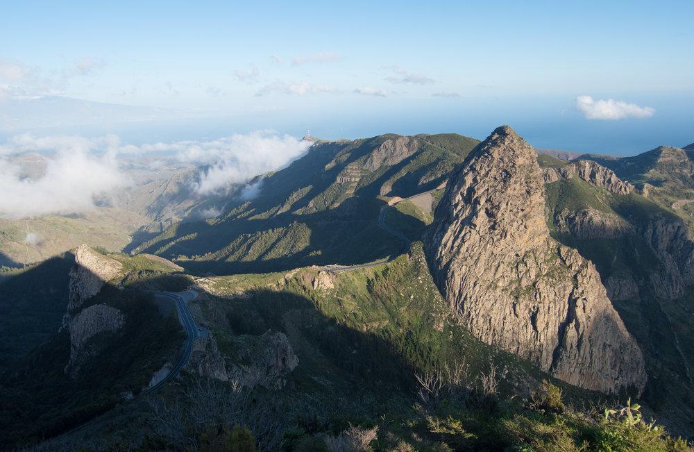 Qué hacer en La Gomera. Mirador del Morro de Agando.