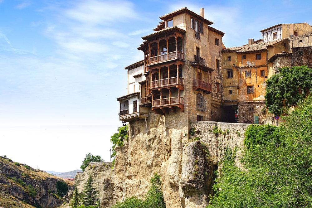 Qué ver en Cuenca. Casas Colgadas.
