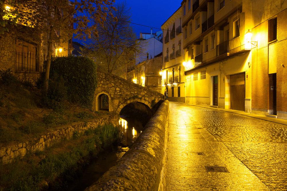 Qué ver en Cuenca. Calle de los Tintes.