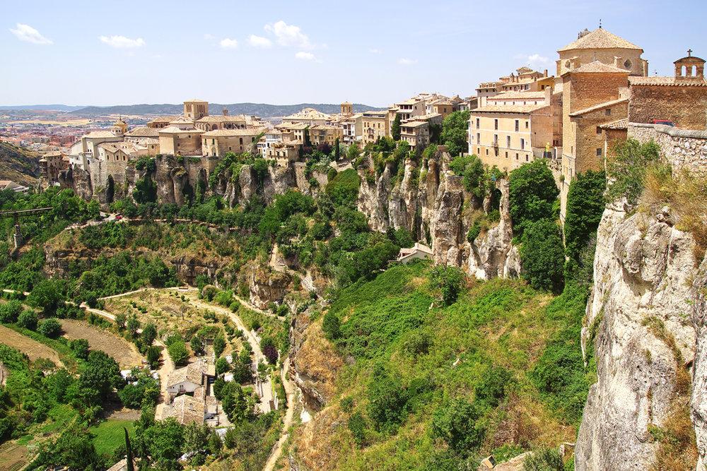 Qué ver en Cuenca. Hoz del Huécar.