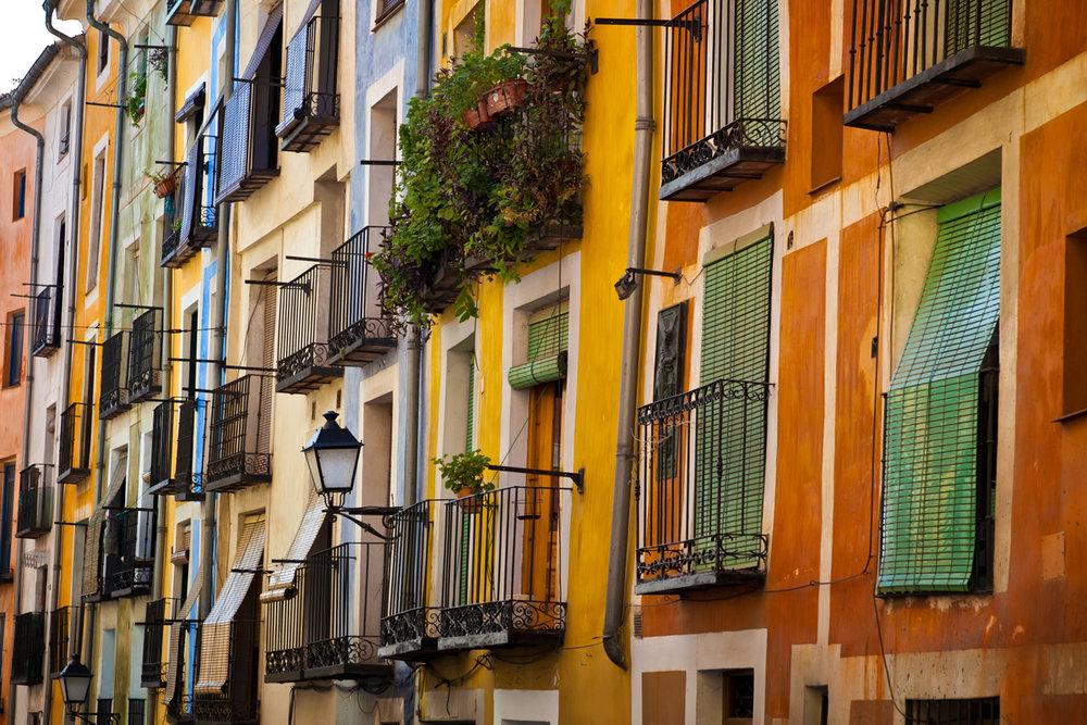 Qué ver en Cuenca. Calle Alfonso VIII.