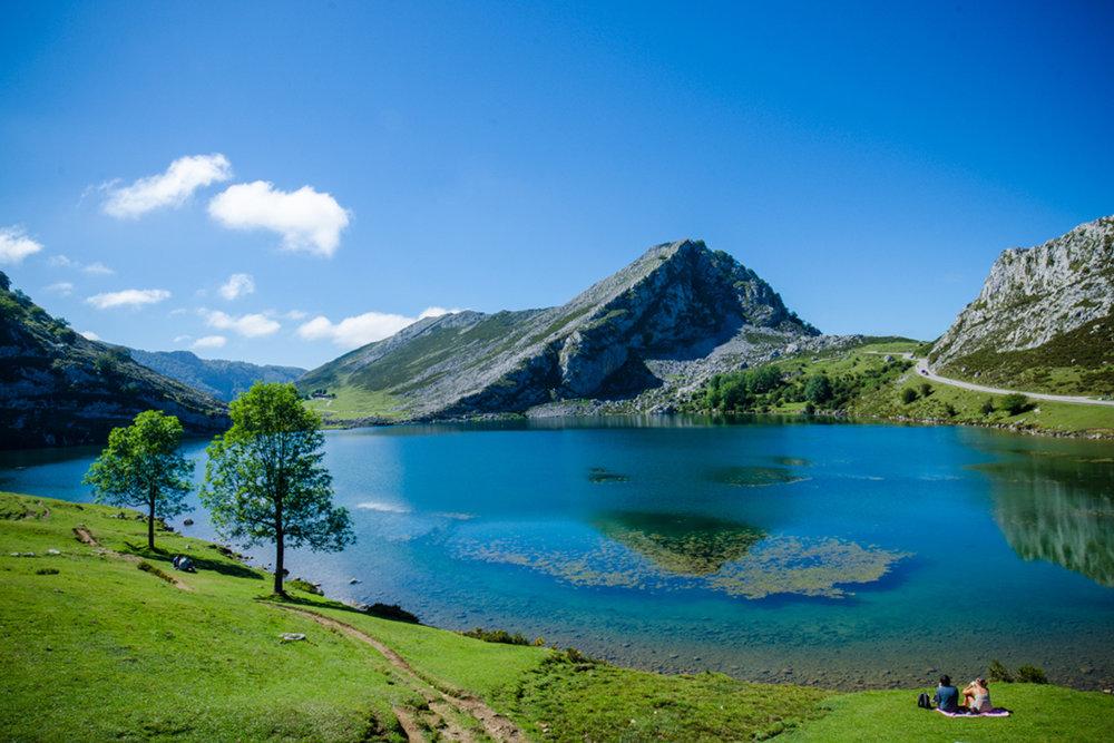 Lago Enol, Picos de Europa (Asturias)