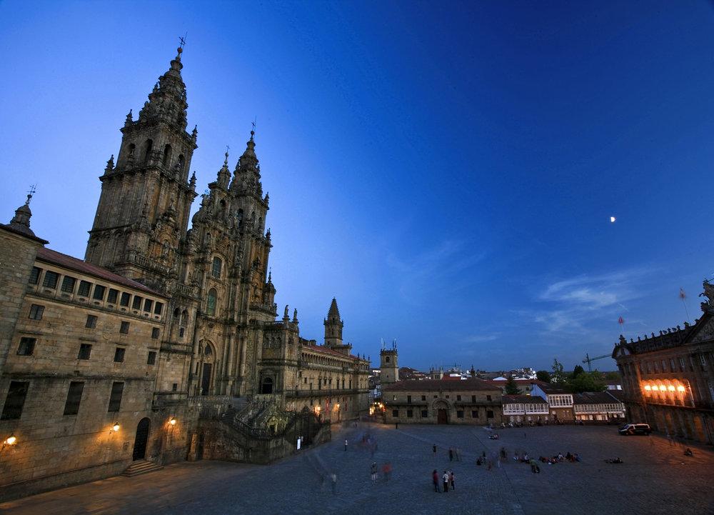 Plaza del Obradoiro, Santiago de Compostela.