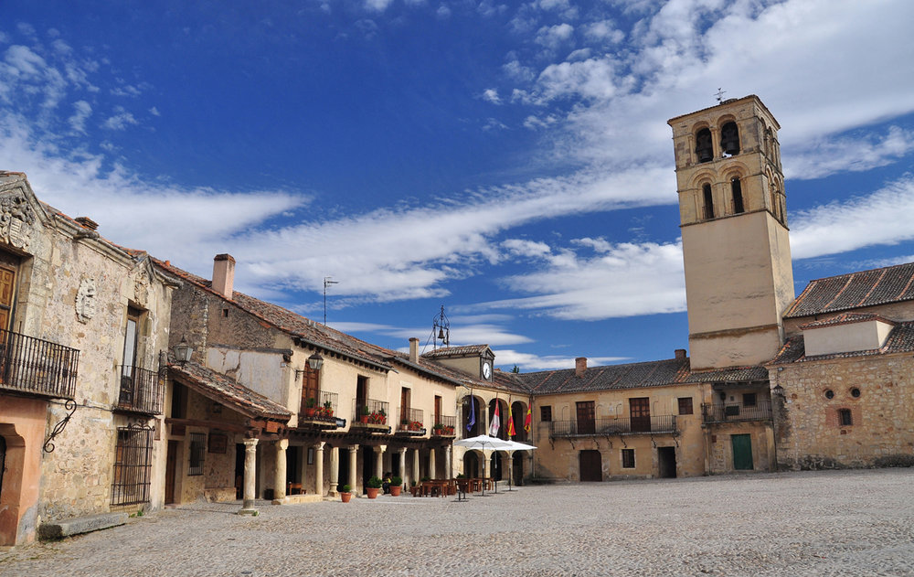 Pedraza (Segovia) - Plaza Mayor.