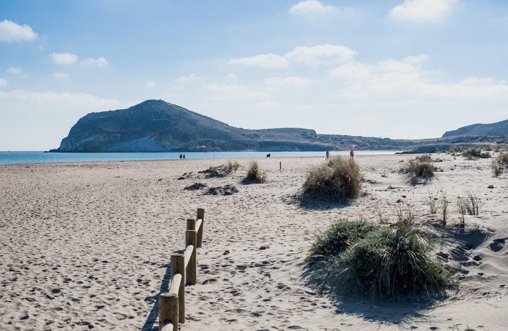 Parque Natural de Cabo de Gata (Almería) - Playa de los Genoveses.