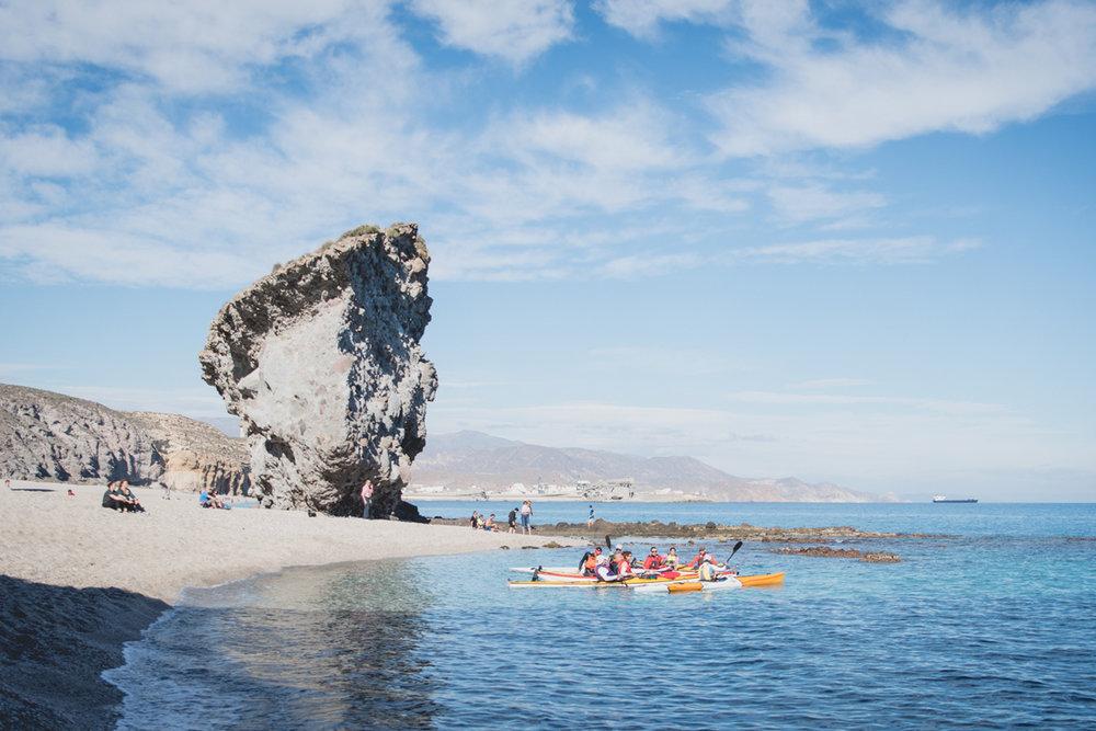 Parque Natural de Cabo de Gata (Almería) - Playa de los Muertos.