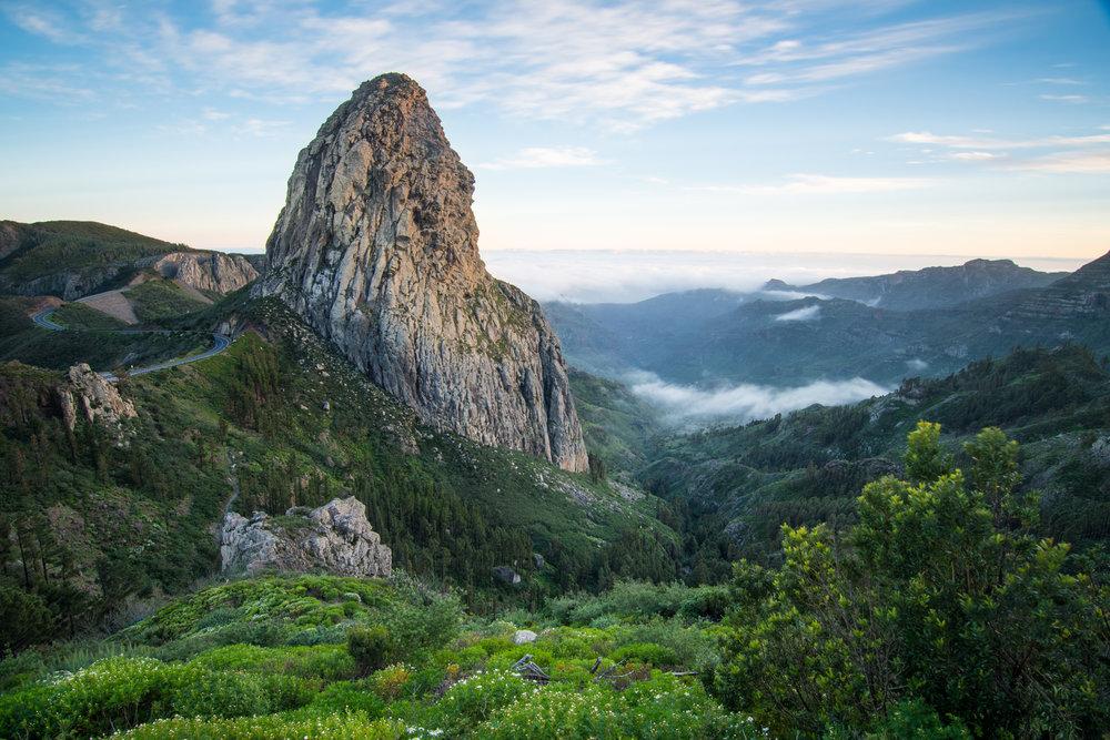 Parque Nacional de Garajonay (La Gomera) - Roque de Agando.