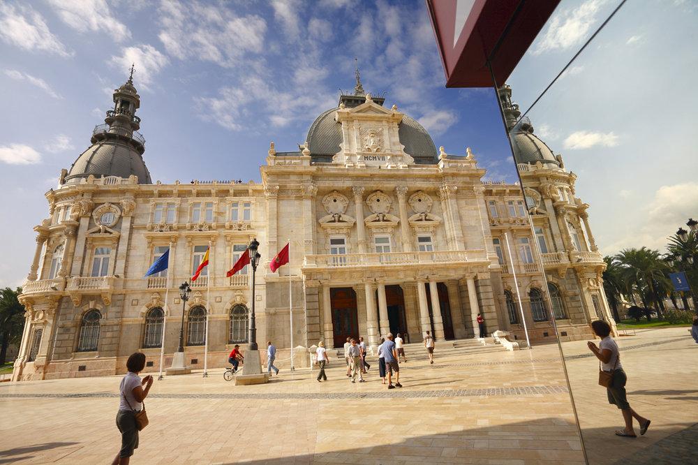Palacio Consistorial de Cartagena (Murcia)