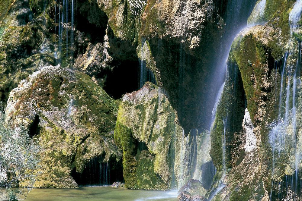 Nacimiento del Río Cuervo (Serranía de Cuenca)