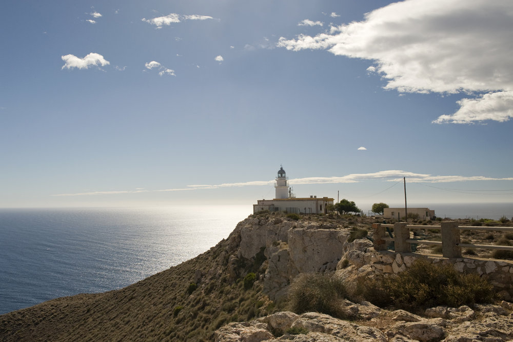 Qué ver en Cabo de Gata - Faro de Mesa Roldán.