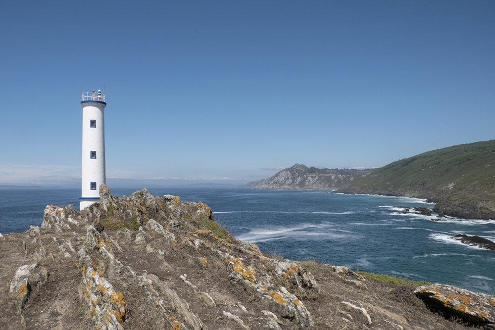Los faros más bonitos de España. Cabo Home (Galicia).