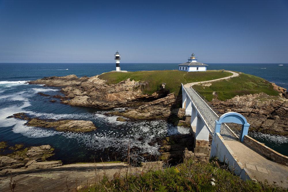 Los faros más bonitos de España - Illa Pancha (Galicia)