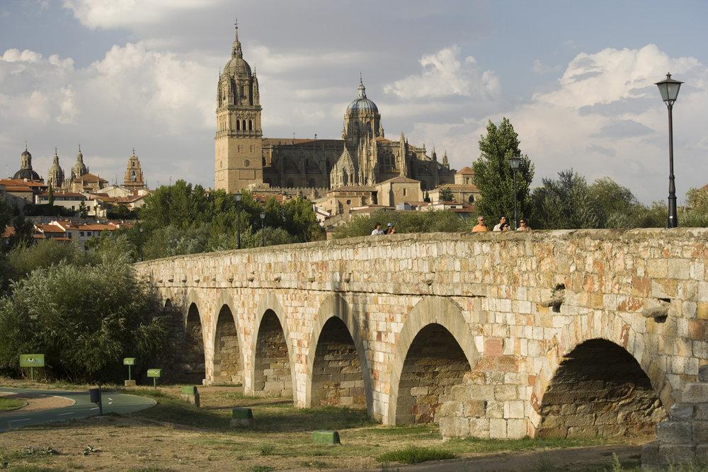 Los puentes más bonitos de España. Puente Romano de Salamanca.