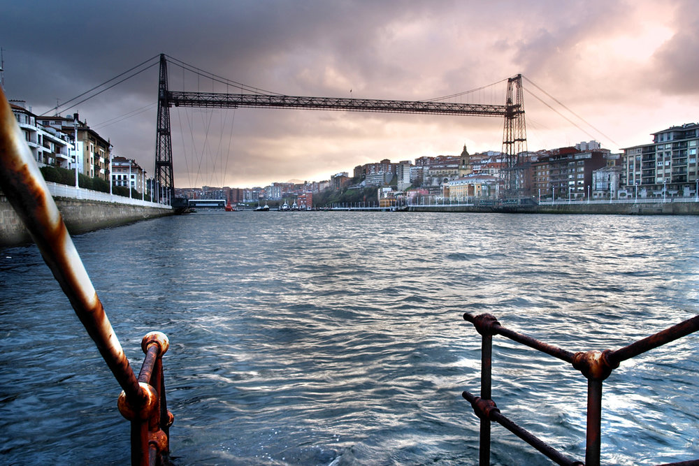 Los puentes más bonitos de España - Puente de Vizcaya