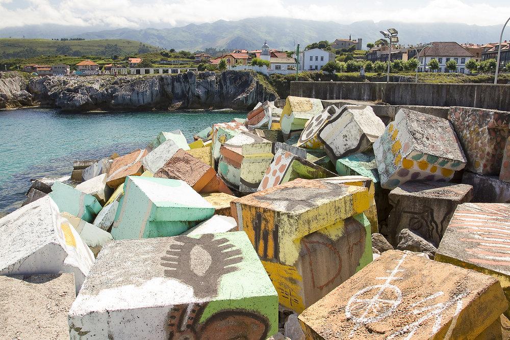 Llanes (Asturias) - Cubos de la Memoria