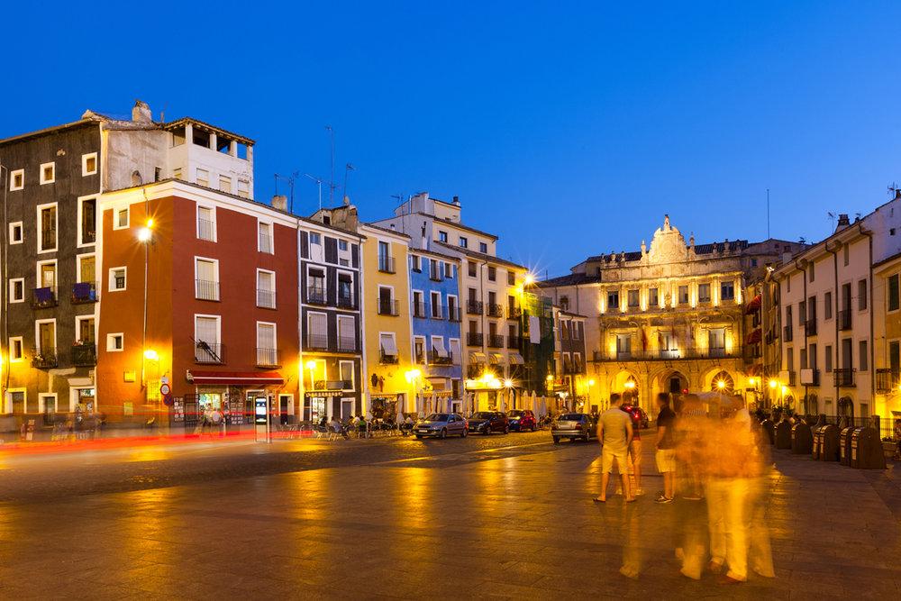 Las plazas más bonitas de España - Plaza Mayor de Cuenca