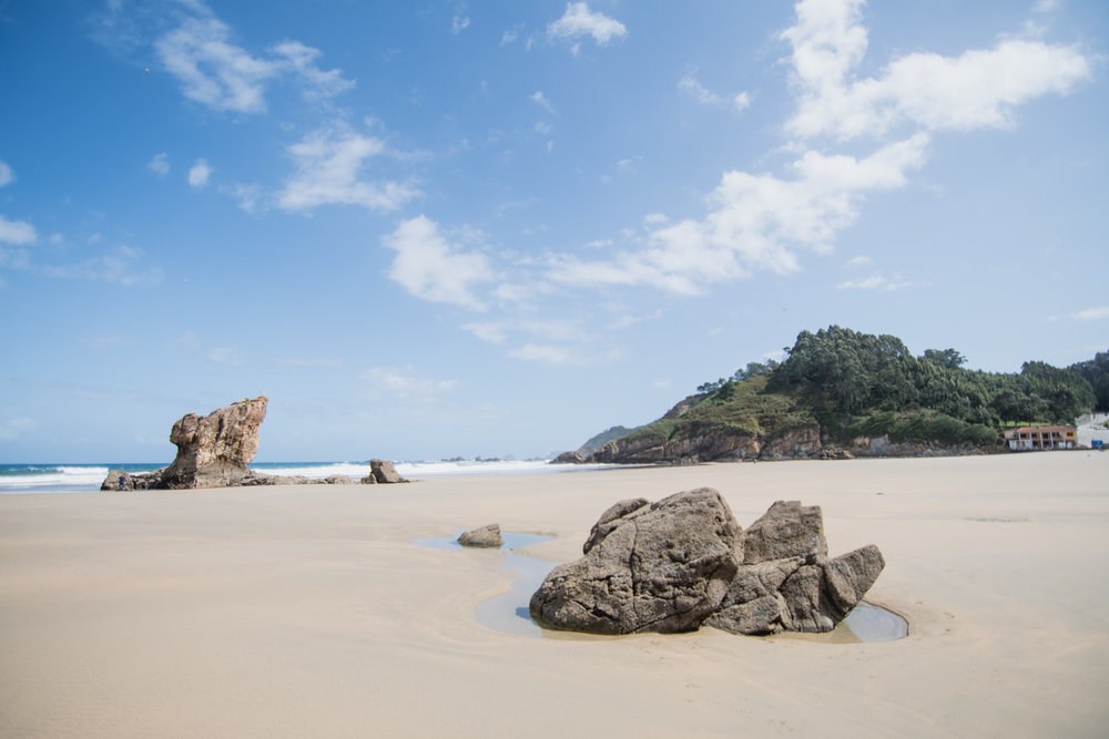 Las playas más bonitas de Asturias - Playa de Aguilar