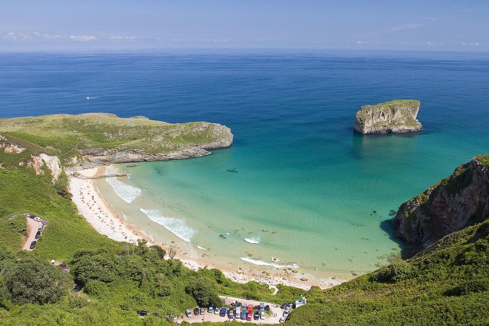 Las playas más bonitas de Asturias - Playa de Ballota