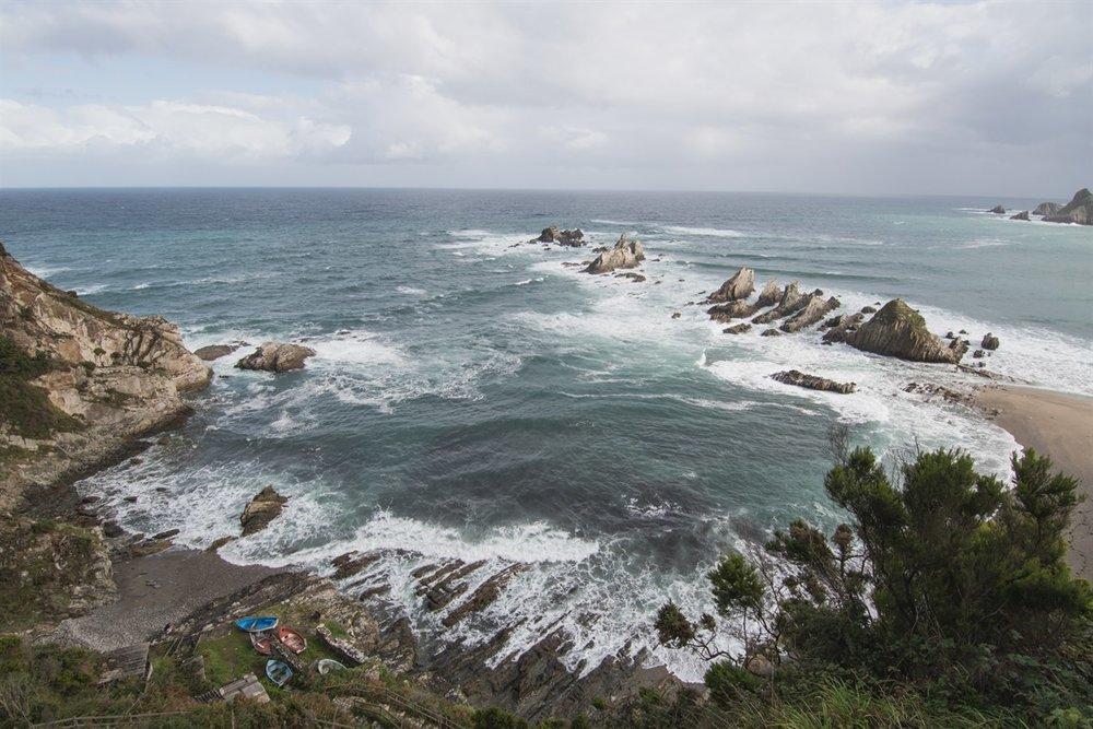 Las playas más bonitas de Asturias - Playa de la Gueirua