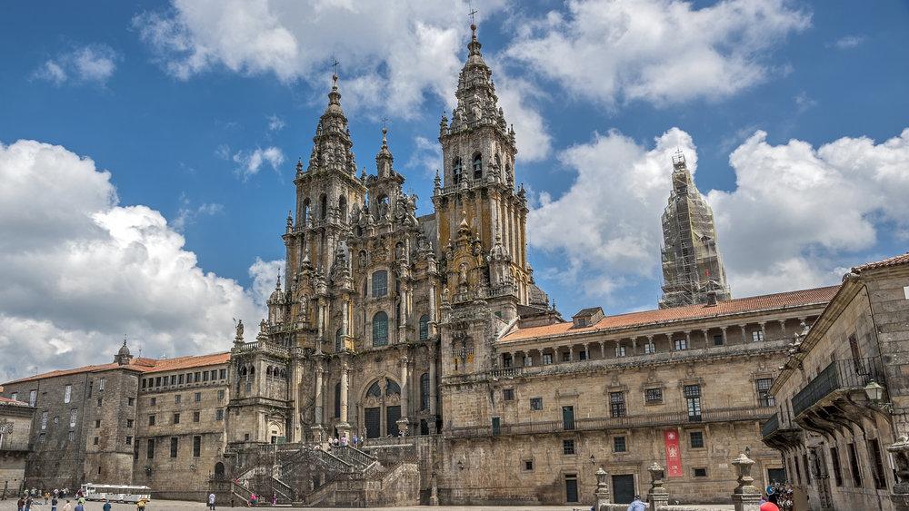 Las catedrales más bonitas de España - Catedral de Santiago de Compostela