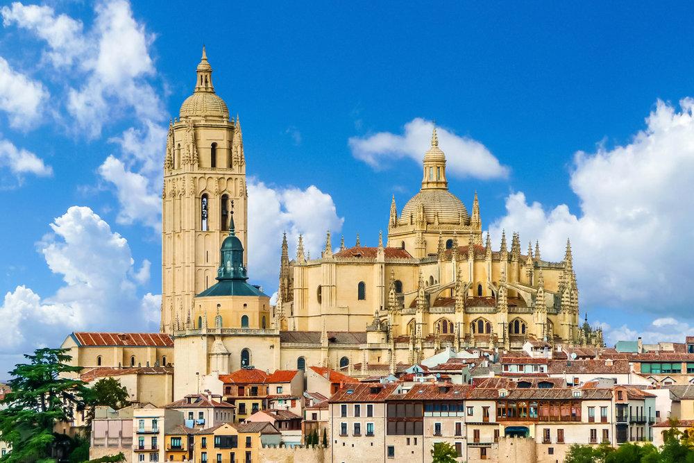 Las catedrales más bonitas de España - Catedral de Segovia